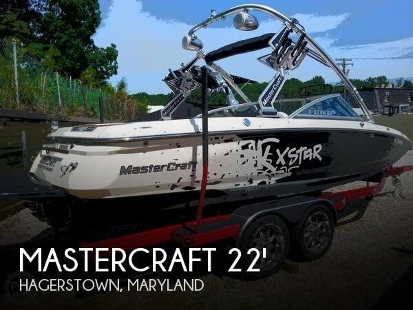Mastercraft 22 X Star 2007 Mastercraft 22 X Star for sale in Hagerstown, MD