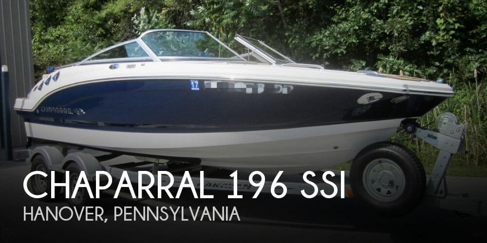 Chaparral 196 SSi 2012 Chaparral 196 SSI for sale in Hanover, PA