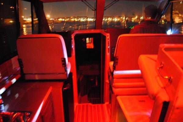 Red Running Lights for Nightime Cruising