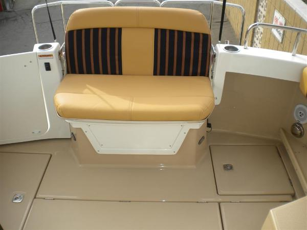 Reversible seat is Standard