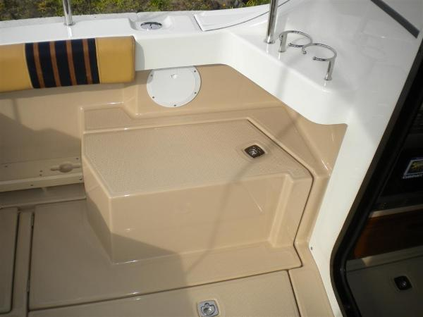 Port Side Cockpit with Storage
