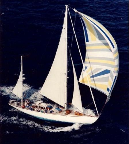 Sparkman & Stephens Design Jacobson Peterson Yawl Rigged