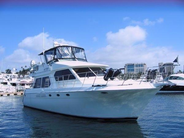 Navigator Pilothouse & a Must See! Built in the USA...on a Beautiful Day