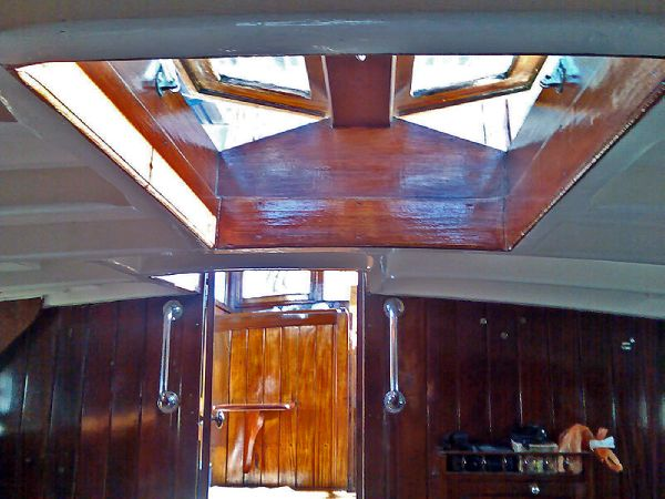 Skylight and deck head