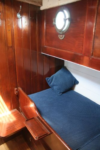 Single berth detail