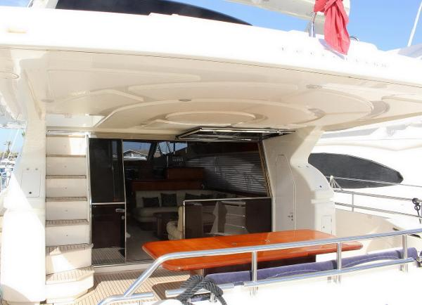 motor yacht Ferretti 68 for sale in spain