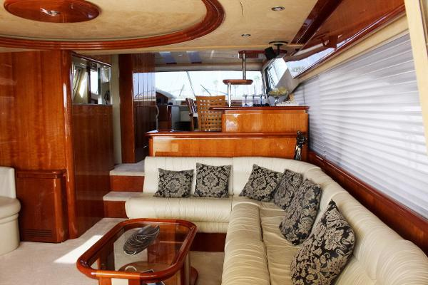 motor boat Ferretti 68 for sale in spain