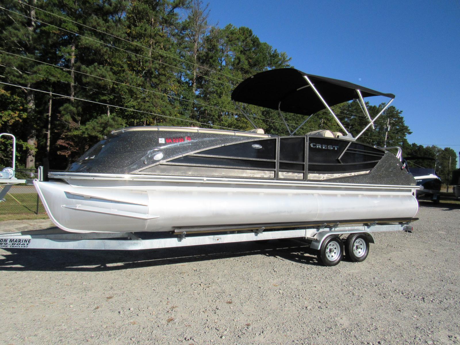Crest Pontoon Boats SAV 250 NX