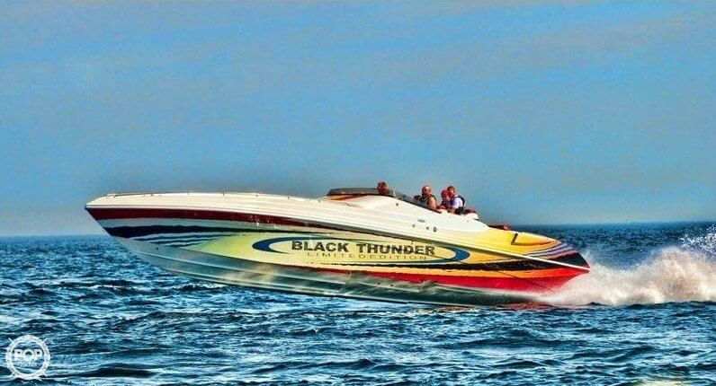 Black Thunder 460 XT EC Limited Edition 2002 Black Thunder 46 for sale in Clio, MI