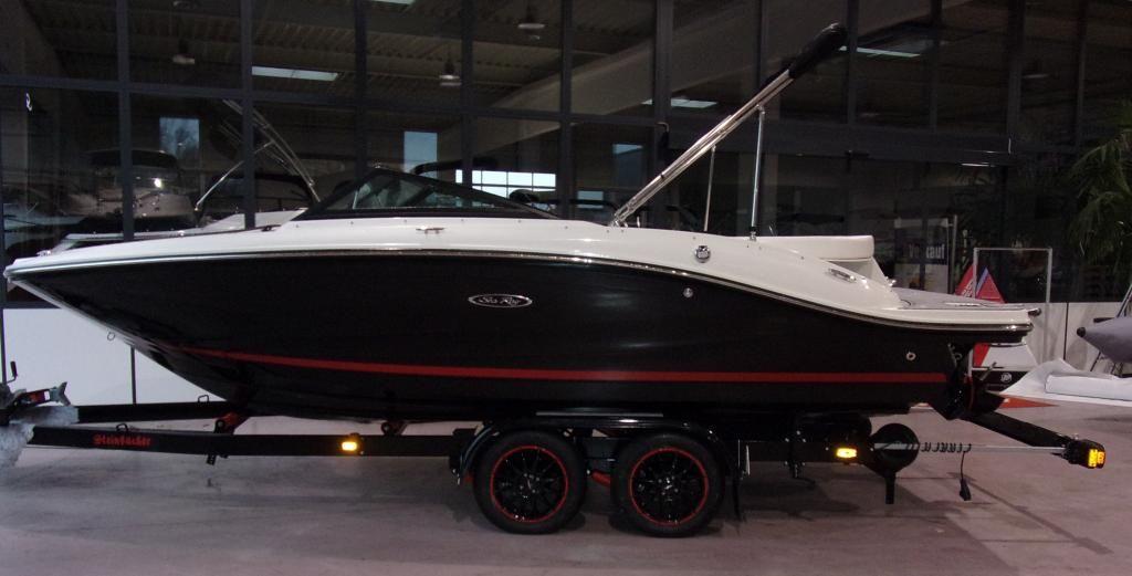 Sea Ray 190 SPXE 50 Jahre Boote Pfister Edition im Vorlauf