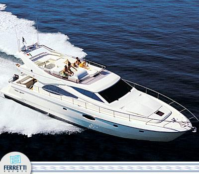 Ferretti Yachts 590 Manufacturer Provided Image: 590