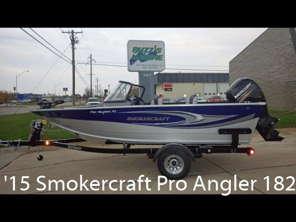 Smoker Craft Pro Angler 182XL