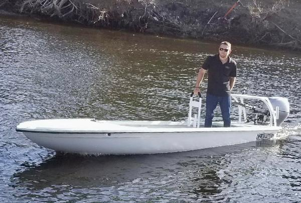 East Cape Gladesman 18 Skiff