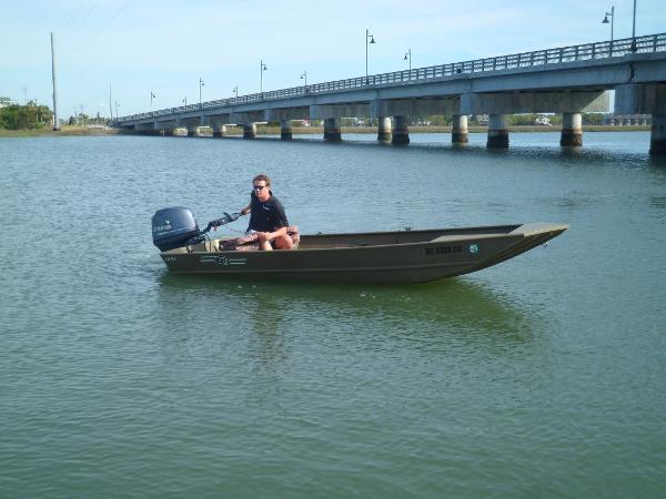 G3 Boats 1652 VBW STARBOARD UNDERWAY