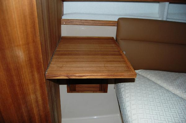 Ranger Tug 31 (Actual)Forward Cabin table down