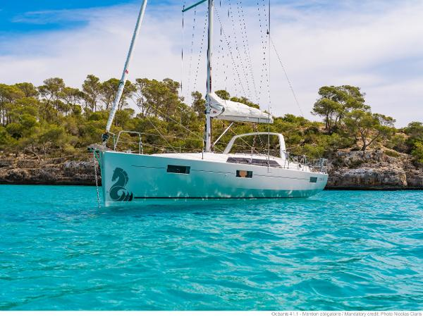 Beneteau Oceanis 41.1 Manufacturer Provided Image: Manufacturer Provided Image