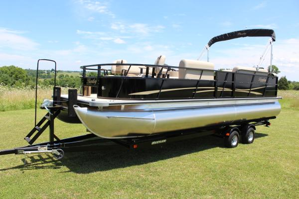 Bentley Pontoons 240 Fish - 115hp - 20 pics/vid