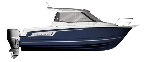 Jeanneau 755 Merry Fisher Legend  755 MF Legend - Manufacturer Picture