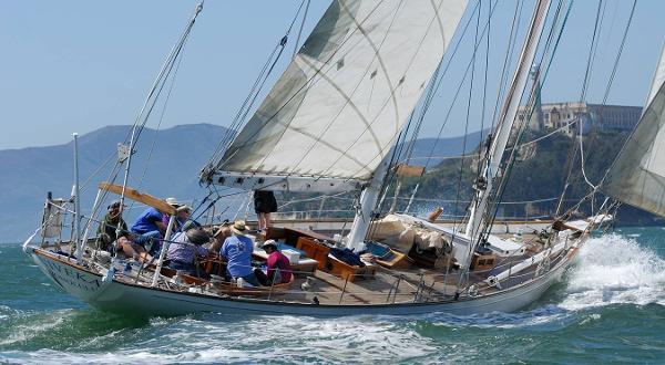 Frank Paine Bermudian Staysail Schooner