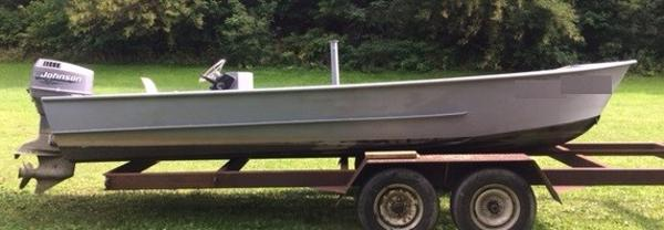 Custom work boat