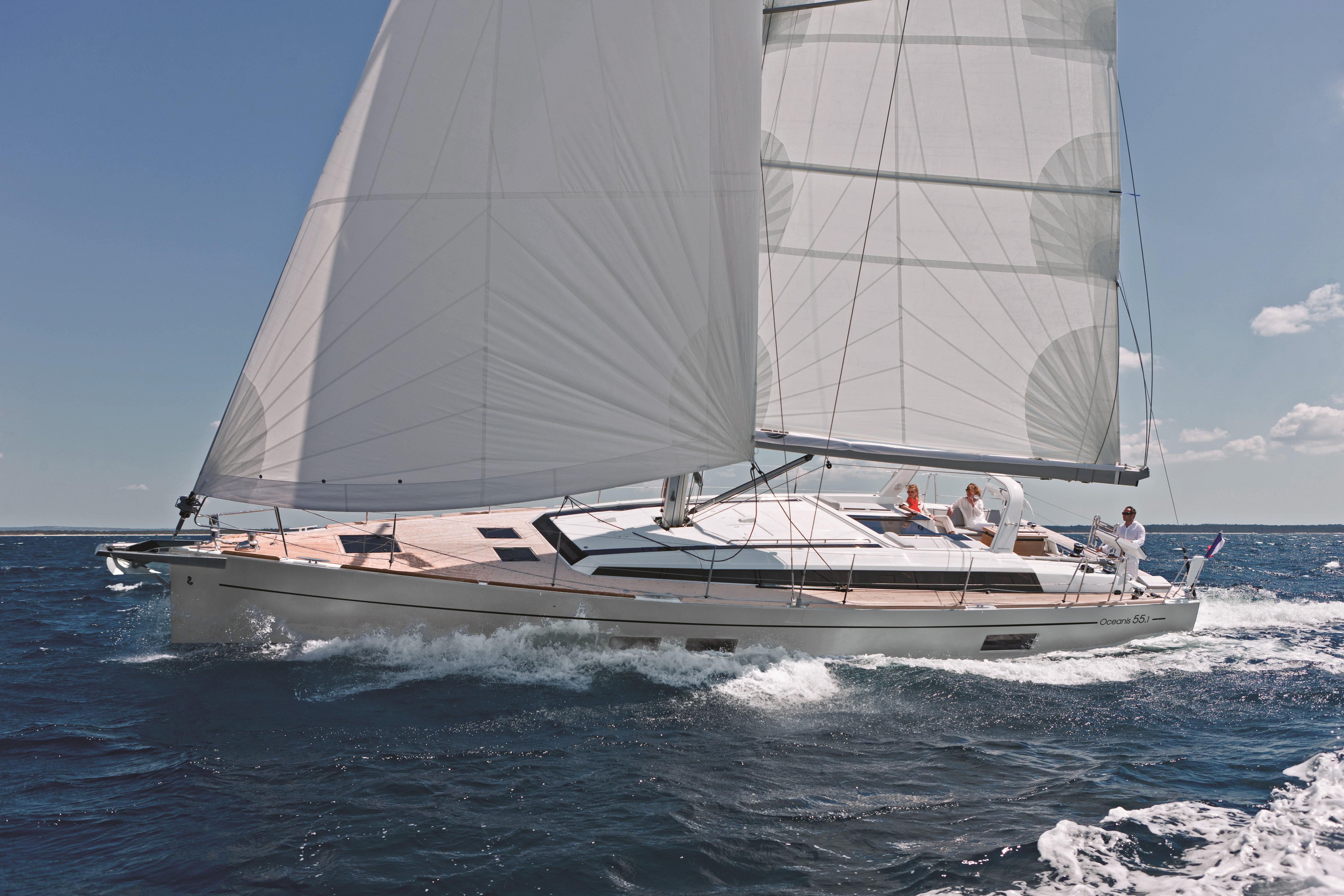 Beneteau Oceanis 55.1 Beneteau Oceanis 55.1 Sailing