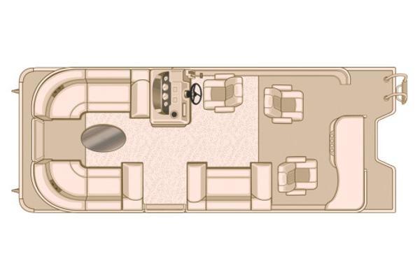 Sylvan Mirage Cruise 8522 Entertainer Manufacturer Provided Image