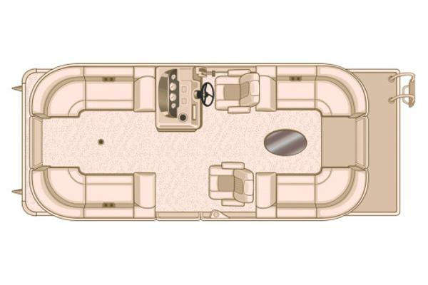 Sylvan Mirage Cruise 8522 LZ Manufacturer Provided Image