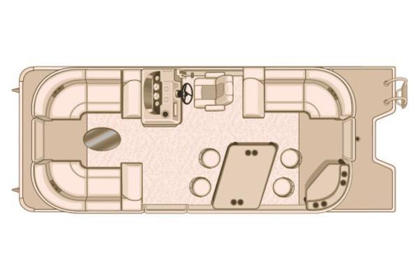 Sylvan Mirage Cruise 8522 LZ PB Manufacturer Provided Image