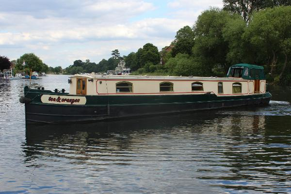 Narrowboat 54' Narrowbeam Dutch Barge 54ft Narrowboat Dutch Barge