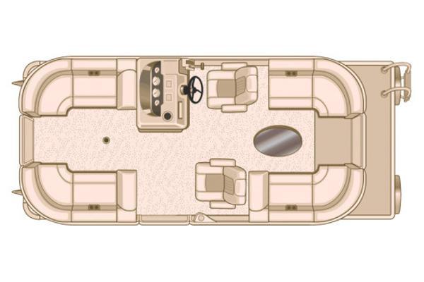 Sylvan Mirage Cruise 8520 LZ LE Manufacturer Provided Image