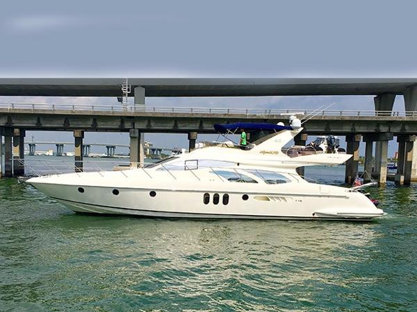 Azimut 62 Flybridge Profile