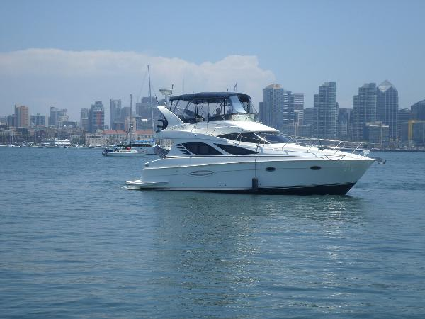 Silverton 38 Sport Bridge Skippy Lash in San Diego!