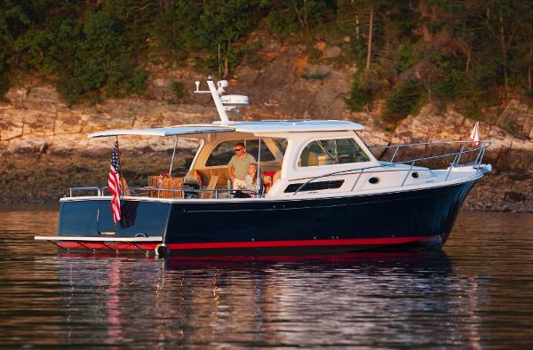 Back Cove Downeast 37 Manufacture Provided Image