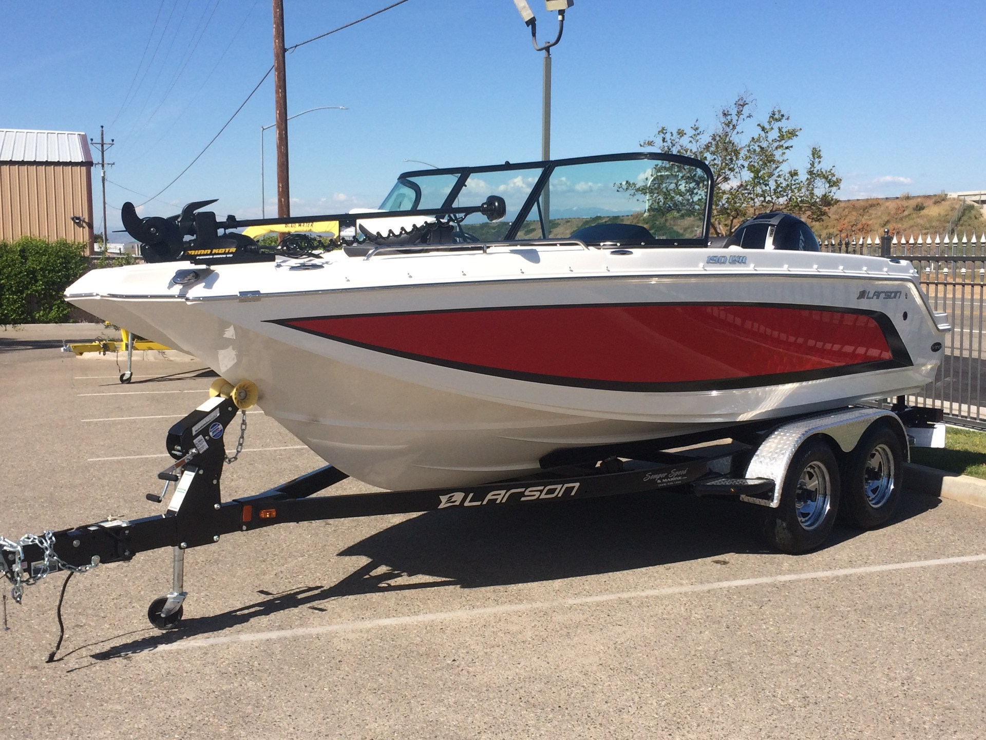 Ski and fish larson boats for sale for Fish and ski boats for sale