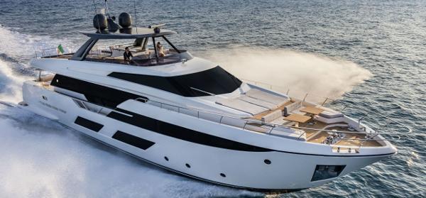 Ferretti Yachts 920 Manufacturer Provided Image: Ferretti Yachts 920