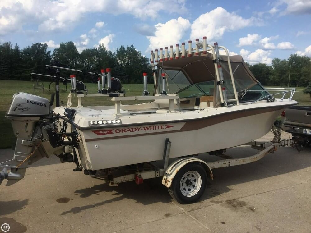 Grady-White 196 Atlantic 1982 Grady-White 196 Atlantic for sale in Highland, MI