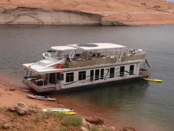 Sharpe 66 x 18 Houseboat