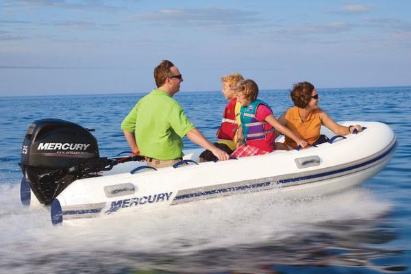 Mercury 430 Ocean Runner Manufacturer Provided Image