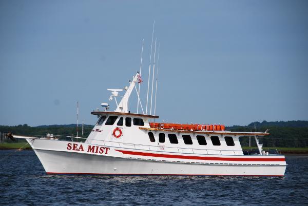 Custom GARY DAVIS  Passenger Charter Boat SEA MIST