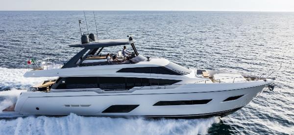 Ferretti Yachts 780 Manufacturer Provided Image: Ferretti Yachts 780
