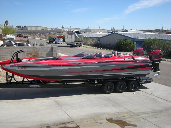 Daves Custom Boats F29 BR OUTBOARD