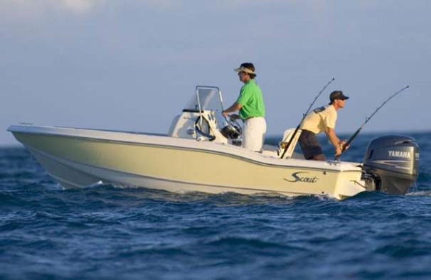 Scout 187 Sportfish Manufacturer Provided Image
