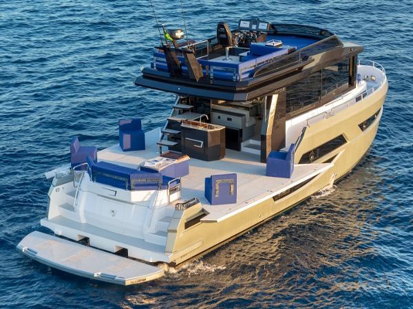 Okean 50 X fast trawler Okean 50 X