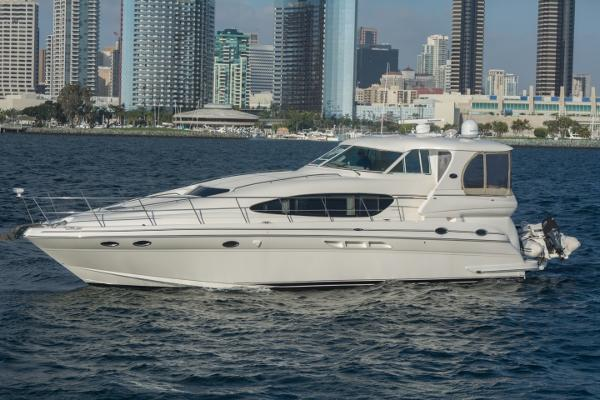 Sea Ray 480 Motor  Yacht Port Profile