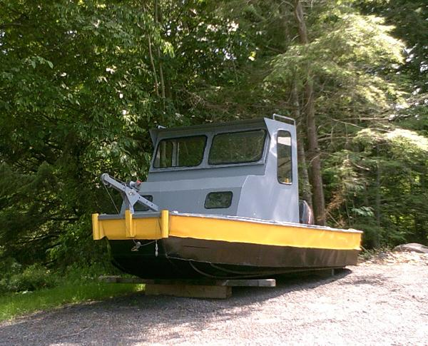 Steel Work Boat or Barge Tender