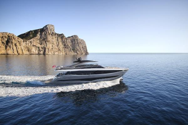Princess Y95 Motor Yacht Manufacturer Provided Image: Princess Y95 Motor Yacht