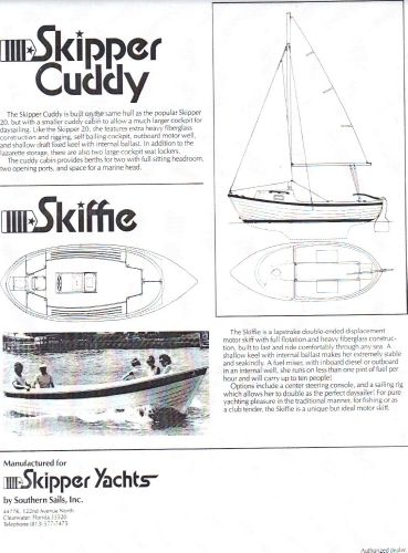 Original Advertising for boat