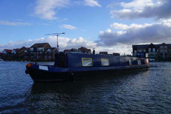 "Narrowboat M Silka 57"" M.Silka 57"" Narrowboat Exterior"