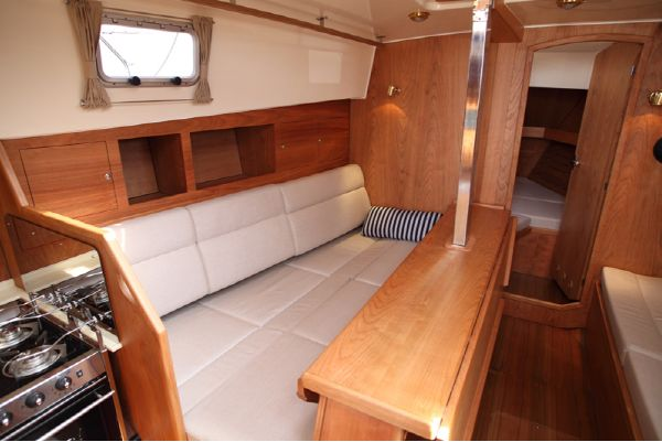 Haber 34C4 Saloon with double bed