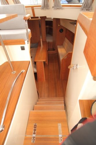 Haber 34C4 Interior Lower Deck